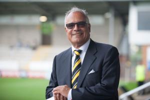 Burton Albion chairman Ben Robinson (Image: Steve Parkin/Burton Mail)