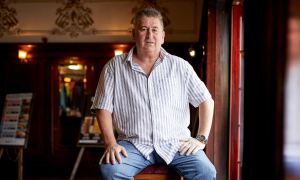 Nigel Callaghan. Photograph: Christopher Thomond/The Guardian