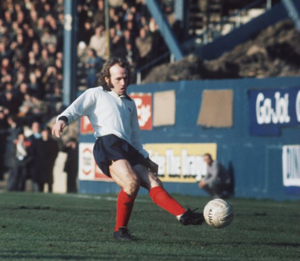 Archie Gemmill in action for Derby County (Image: Allsport)